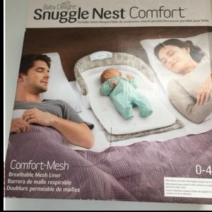 Baby Delight Snuggle Nest Comfort Infant Sleeper